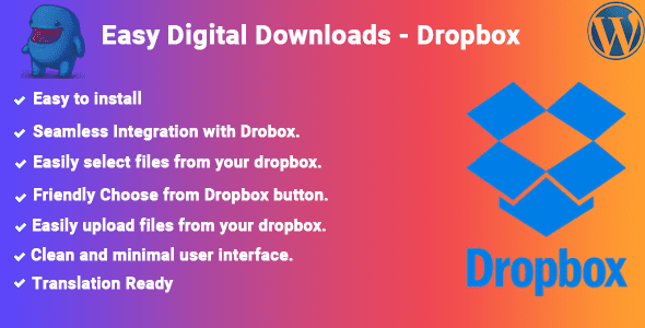 1 0 0] Easy Digital Downloads - Dropbox Nulled Free Download