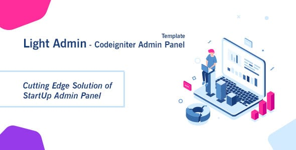 Latest] CI StartUp Admin Panel Template + Login Auth Nulled